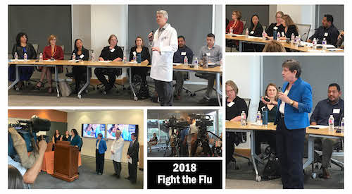 2018 Fight the Flu Kick-off Event at Dell Medical School