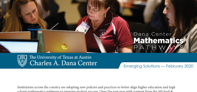 It Takes A Village: Central Texas Mathematics Alignment Taskforce