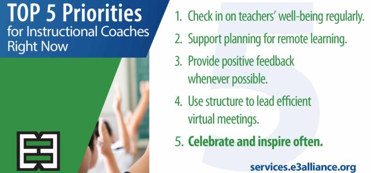 Top 5 Priorities for Instructional Coaches Right Now