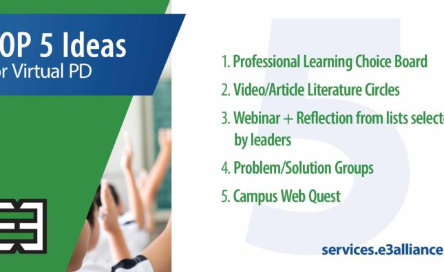 Top 5 Ideas for Providing Virtual Professional Development