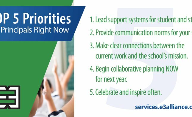 Top 5 Priorities for Principals Right Now