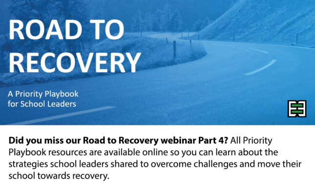 Road to Recovery Webinar Series – Part 5 | February 25, 2021