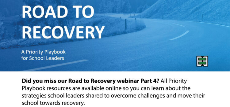 Road to Recovery Webinar Series – Part 5 | March 4, 2021 (rescheduled)