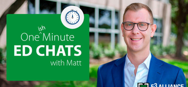 How to Make Equity the Focus | Minute with Matt