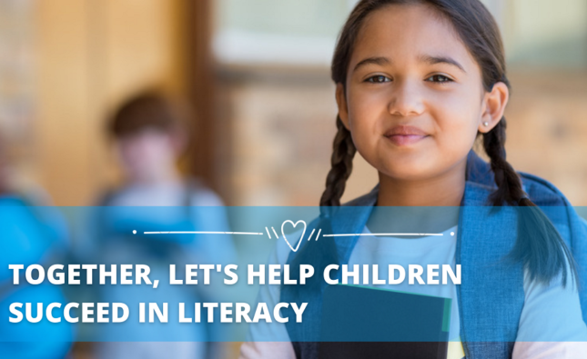 Together, Let's Help Children Succeed in Literacy