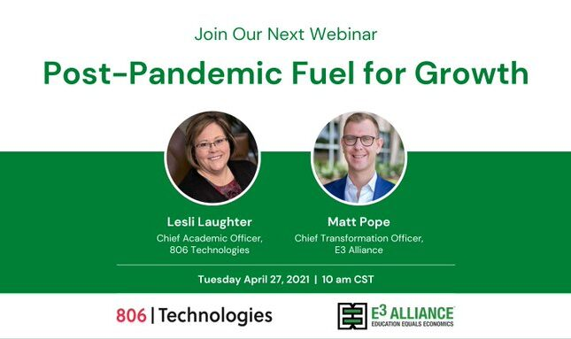 Post-Pandemic Fuel For Growth | April 27, 2021 | 10:00 am CST