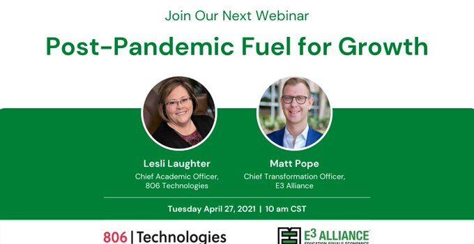Post-Pandemic Fuel For Growth | April 27, 2021 | 10:00 am CST